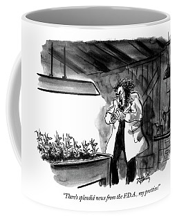 There's Splendid News From The F.d.a Coffee Mug