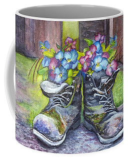These Boots Were Made For Planting Coffee Mug