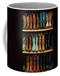 These Boots Were Made For Walking Coffee Mug