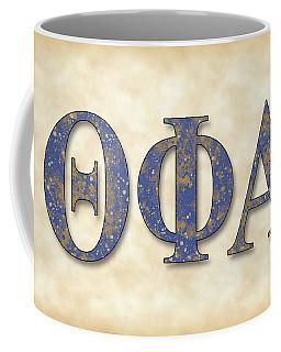 Theta Phi Alpha - Parchment Coffee Mug