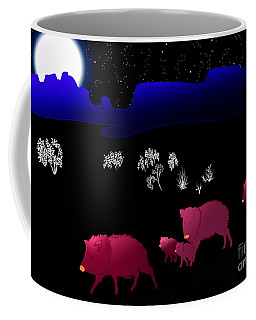 They Walk By Night Coffee Mug