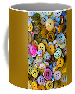 Coffee Mug featuring the photograph Thimble And Needle by Edgar Laureano
