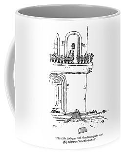 This Is Mrs. Burlington Wells.  One Coffee Mug