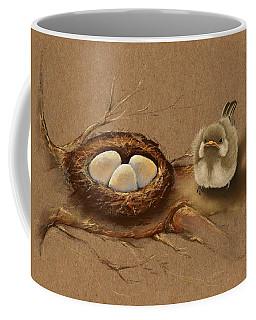 This Is My Nest? Coffee Mug by Veronica Minozzi