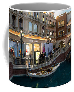 It's Not Venice - The White Wedding Gondola Coffee Mug