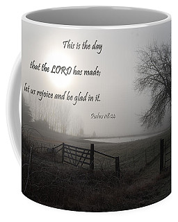 This Is The Day That The Lord Has Made Coffee Mug by Jani Freimann