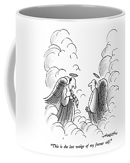 This Is The Last Vestige Of My Former Self Coffee Mug