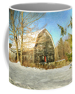 This Old Barn Coffee Mug by Tina  LeCour