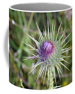 Thistle Flower Coffee Mug