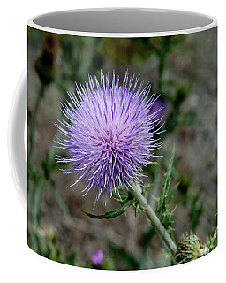 Coffee Mug featuring the photograph Thistle by Rod Wiens