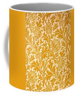 Thistle Wallpaper Design, Late 19th Coffee Mug