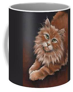 Coffee Mug featuring the drawing Thomas by Cynthia House