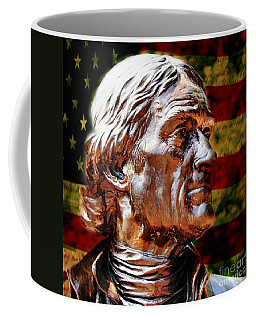 Thomas Jefferson Statue  Coffee Mug