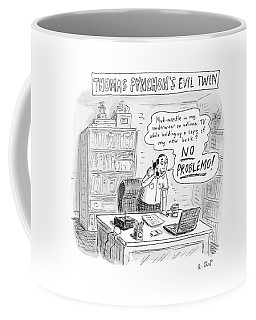 Thomas Pynchon's Evil Twin Coffee Mug