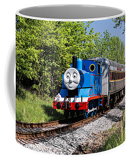 Thomas Visits The Cvnp Coffee Mug