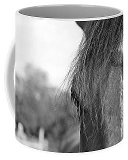 Thoroughbred B/w Coffee Mug