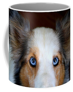 Those Eyes Coffee Mug by Kathryn Meyer