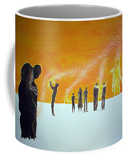 Those Who Left Early Coffee Mug by Lazaro Hurtado