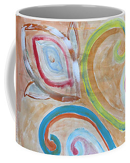 Coffee Mug featuring the painting Thought by Sonali Gangane