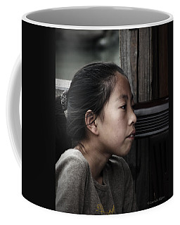 Coffee Mug featuring the photograph Thoughts by Lucinda Walter