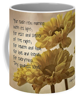 Thoughts Of Gratitude Coffee Mug