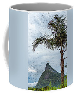 Thousands Of Flying Ants On Corcovado Coffee Mug