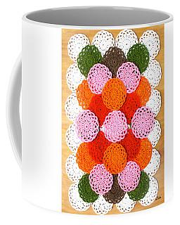 Thread On Canvas Coffee Mug