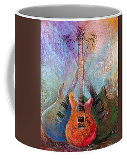 Coffee Mug featuring the painting Three Amigos by Andrew King