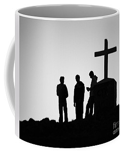 Three At The Cross Coffee Mug