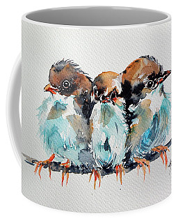 Three Birds Coffee Mug