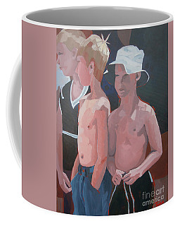 Three Boys Coffee Mug