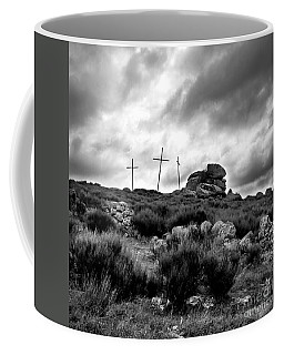 Three Crosses Coffee Mug