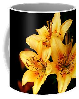 Three Day Lilies Taos Garden Coffee Mug