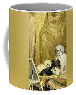 Three Dogs Coffee Mug