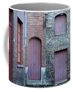 Three Doors And Two Windows Bruges, Belgium Coffee Mug