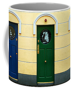 Three Doors Coffee Mug