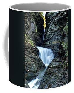 Three Falls In Watkins Glen Coffee Mug
