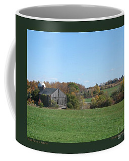 Three Farms In Autumn Coffee Mug