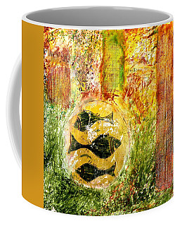 Three Fishes Coffee Mug
