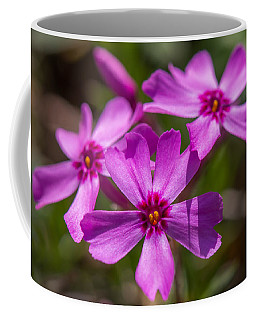 Three Flowers Coffee Mug