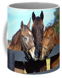 Three Friends Coffee Mug