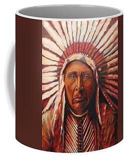 Three Horses, Native American  Coffee Mug