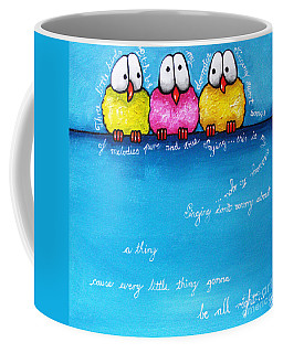 Three Little Birds Coffee Mug
