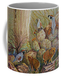 Three Little Javelinas Coffee Mug