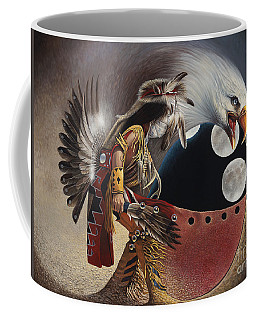 Three Moon Eagle Coffee Mug