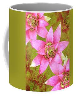 Three Pink Ladies Coffee Mug by Claudia Ellis