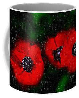 Three Poppies Coffee Mug