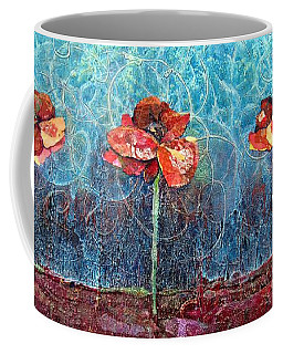Three Poppies Coffee Mug