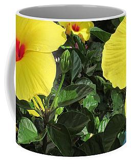Three Red Deep Throats Coffee Mug