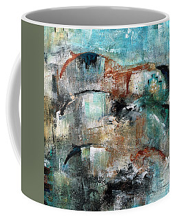 Three Running Horses Coffee Mug